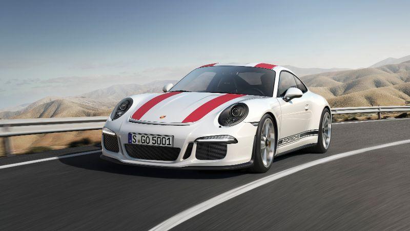 Porsche 911 R Front Scheinwerfer LED Felgen Kühler Lackierung