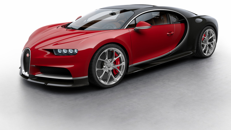 bugatti chiron in allen farben motorblock. Black Bedroom Furniture Sets. Home Design Ideas