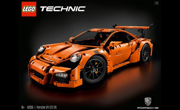 lego ultimativ porsche 911 gt3 rs video. Black Bedroom Furniture Sets. Home Design Ideas