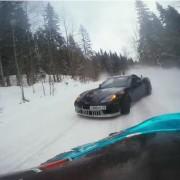 Corvette gegen Supra