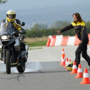 Motorrad Warm-up; Foto: ÷AMTC Fahrtechnik/www.haliklik.at