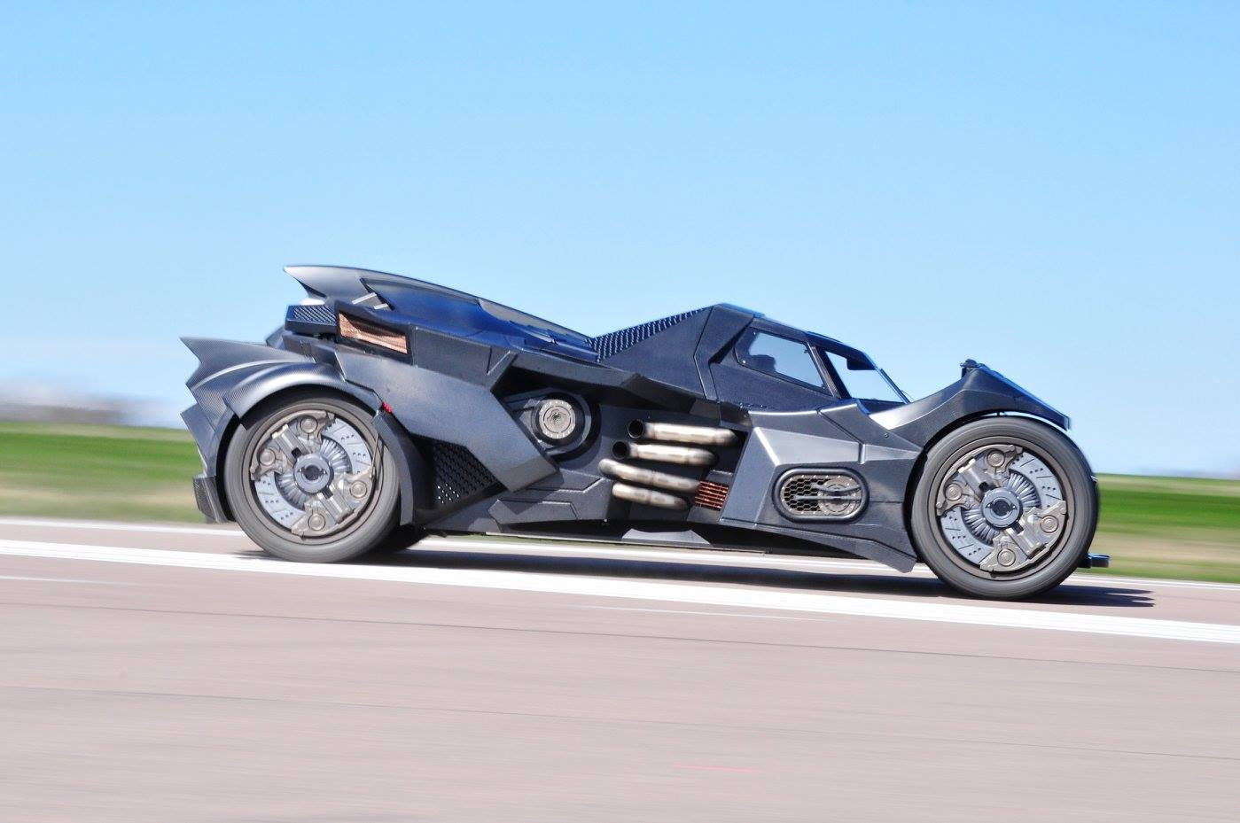 Arkham Knight Batmobil