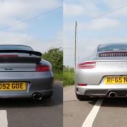 Porsche 996 Turbo vs. 991 Carrera