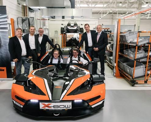 KTM X-Bow und Vorstand