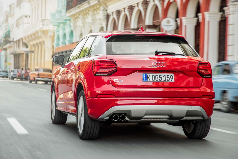 Audi Q2 Vive La Revolution Motorblock