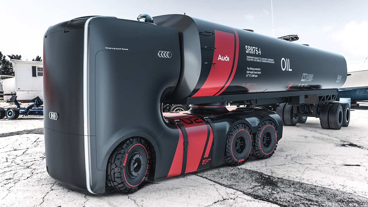 Future Audi Truck Concept Designerwahnsinn Motorblock