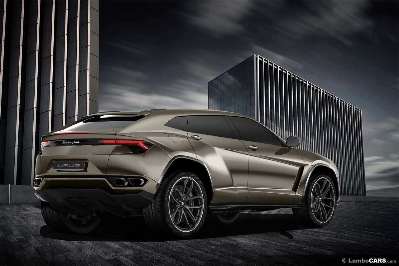 Lamborghini Urus Konzepte Des Grauens Motorblock