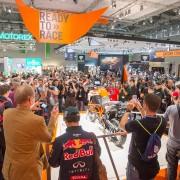 Pressekonferenz KTM,  Halle 9