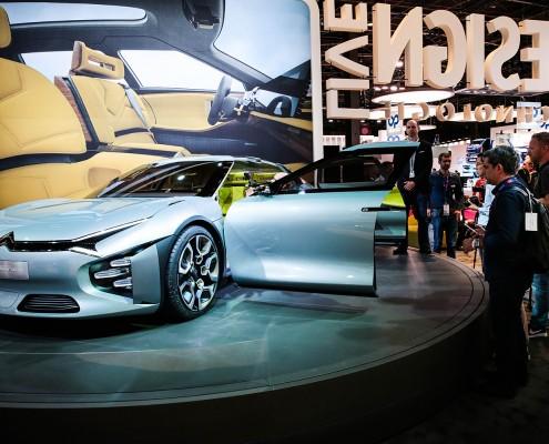 Paris - Mondial de l'automobile 2016 / Illustrations stands