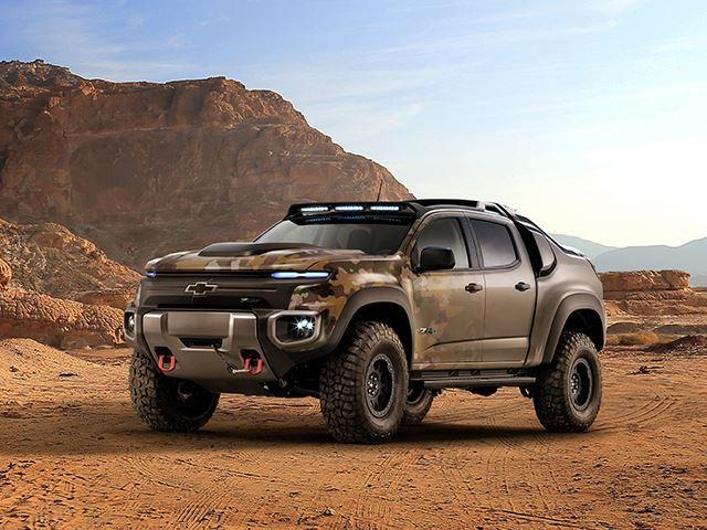 Chevrolet Colorado ZH2 für die US-Army (Bilder)