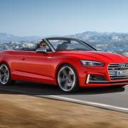 Audi-A5-Cabrio-Offen-Verdeck-Seite-Fahrt