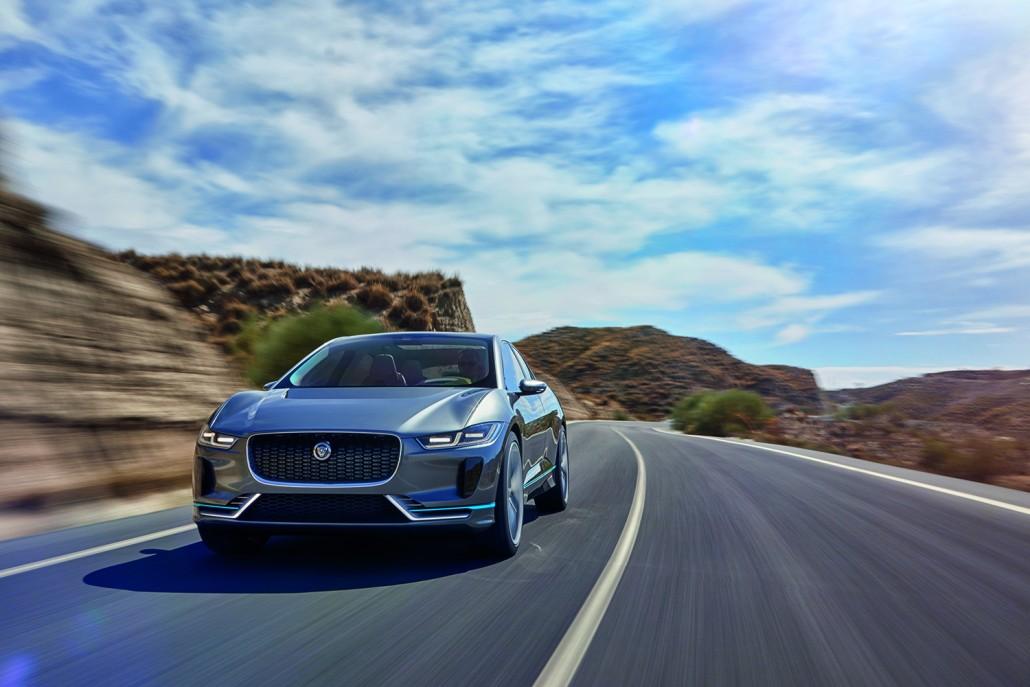 Jaguar I Pace Made In Austria Motorblock