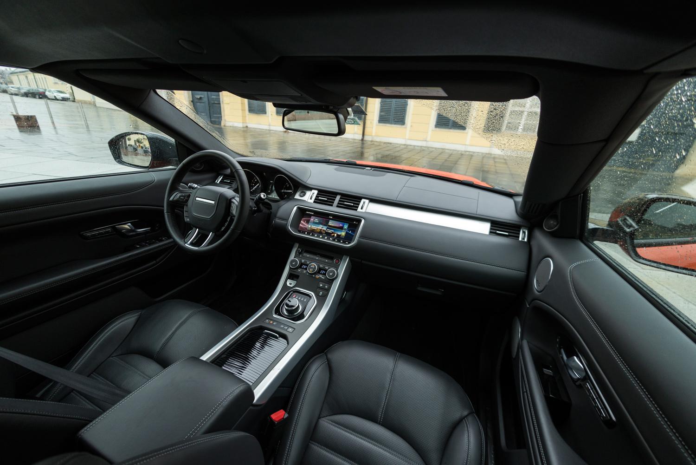 Behaunski über das Range Rover Evoque Cabrio - Motorblock