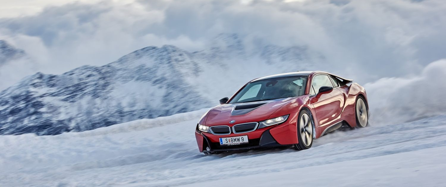 BMW i8, Winter,