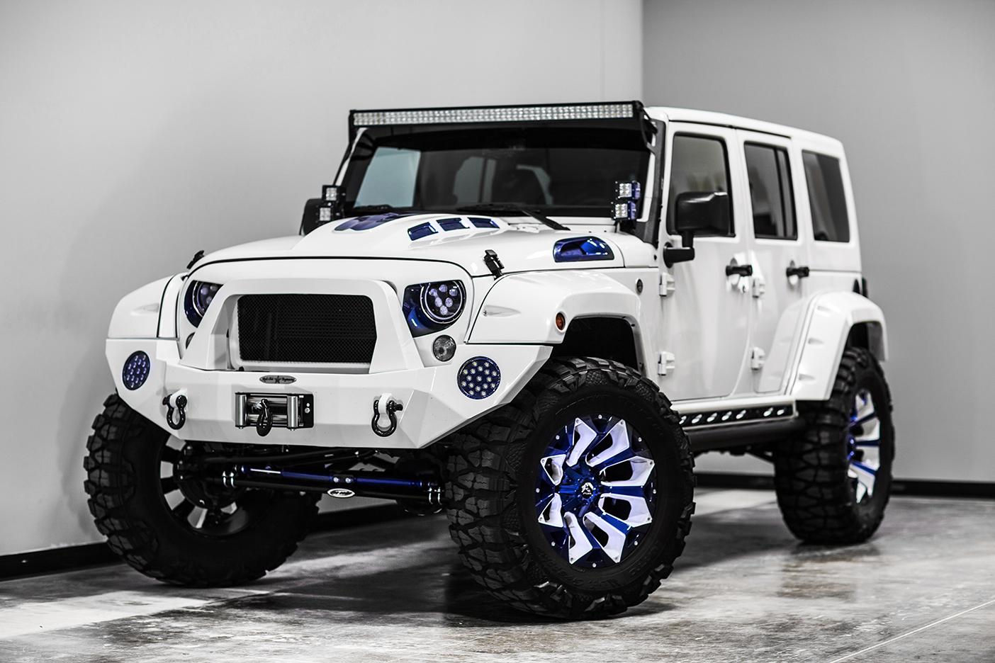 Voltron Motors Jeep Wrangler Extrem