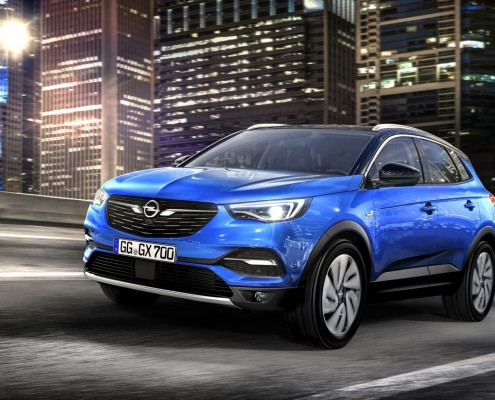 2017 Opel Grandland X - Sperrfrist bis 19. April