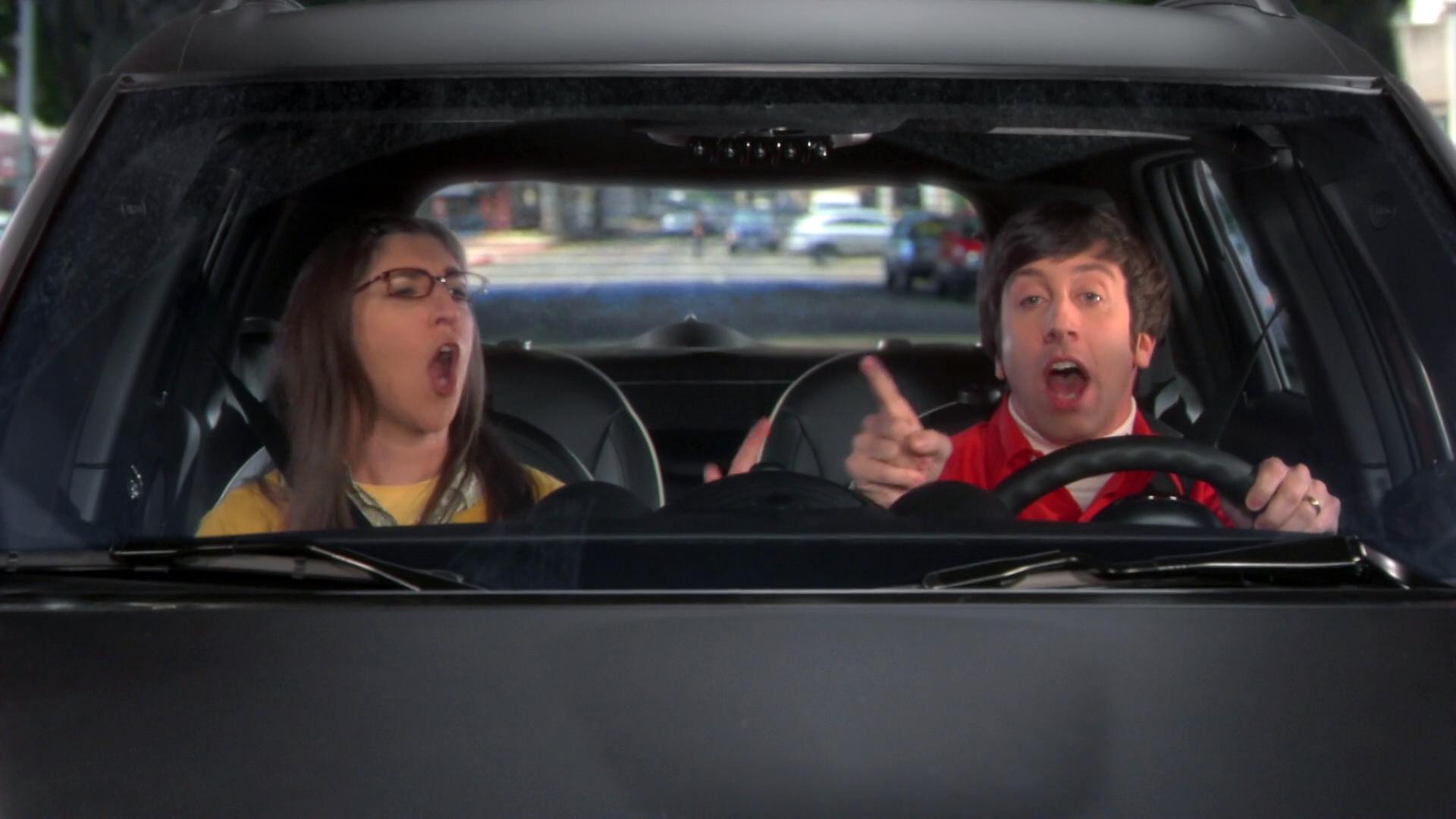 Big Bang Theory What Car Does Howard Drive