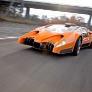 Sbarro Autobau concept 2010 sur route. Test par http://www.auto-illustrierte.ch