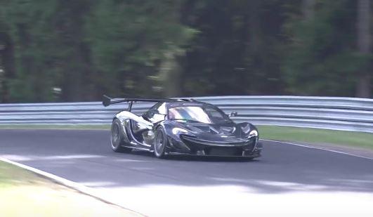 mclaren p1 lm: monsterrekord am nürburgring? - motorblock