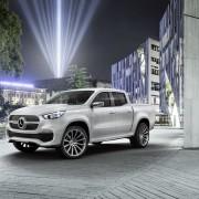 Mercedes-Benz Concept X-CLASS – Designvariante in Weißmetallic, Exterieur (Autosalon Genf 2017)   Mercedes-Benz Concept X-CLASS – Design variant in white metallic, Exterior (Geneva Motor Show 2017)