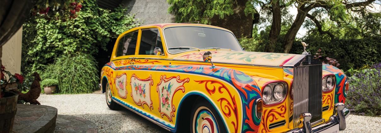 """Rolls-Royce Phantom V John Lennon / Weiterer Text über ots und www.presseportal.de/nr/116117 / Die Verwendung dieses Bildes ist für redaktionelle Zwecke honorarfrei. Veröffentlichung bitte unter Quellenangabe: """"obs/Rolls-Royce Motor Cars/KimB"""""""