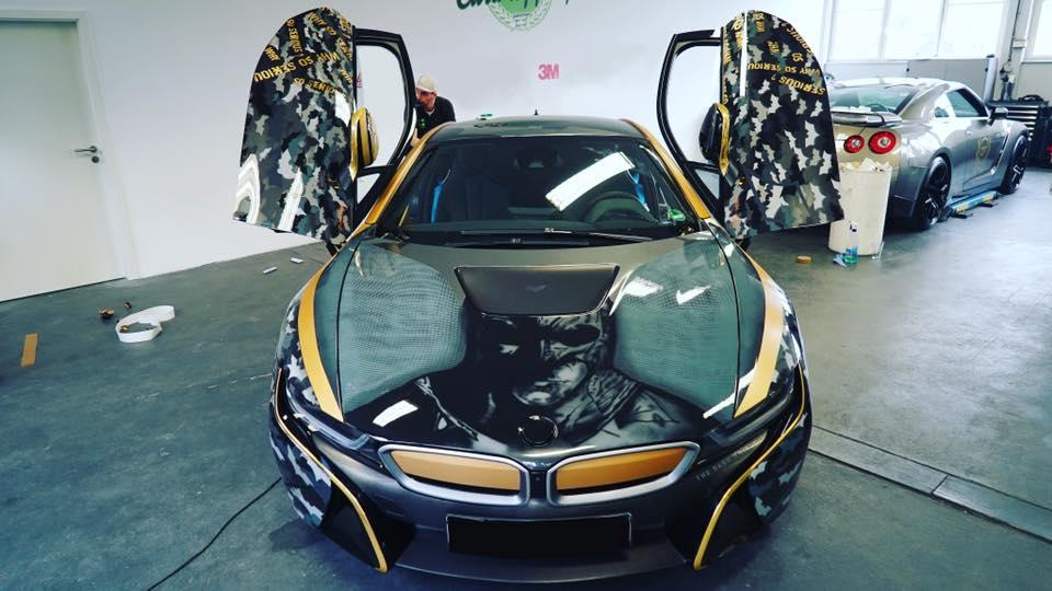 Bmw I8 Joker Vs Batman Motorblock