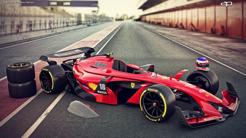 F1 Vision Concept 2025 Die Formel 1 Der Zukunft