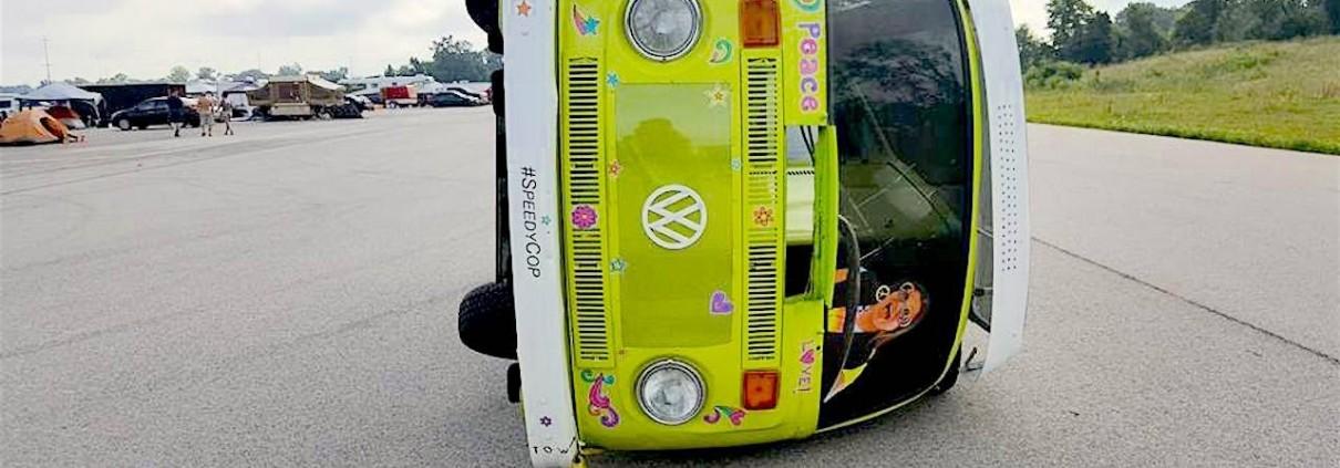 Trippy Tippy Hippy Van Header