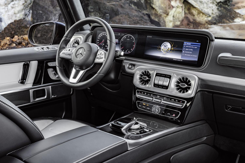 Mercedes G-Klasse-Interieur: Sternensuite im Schlamm