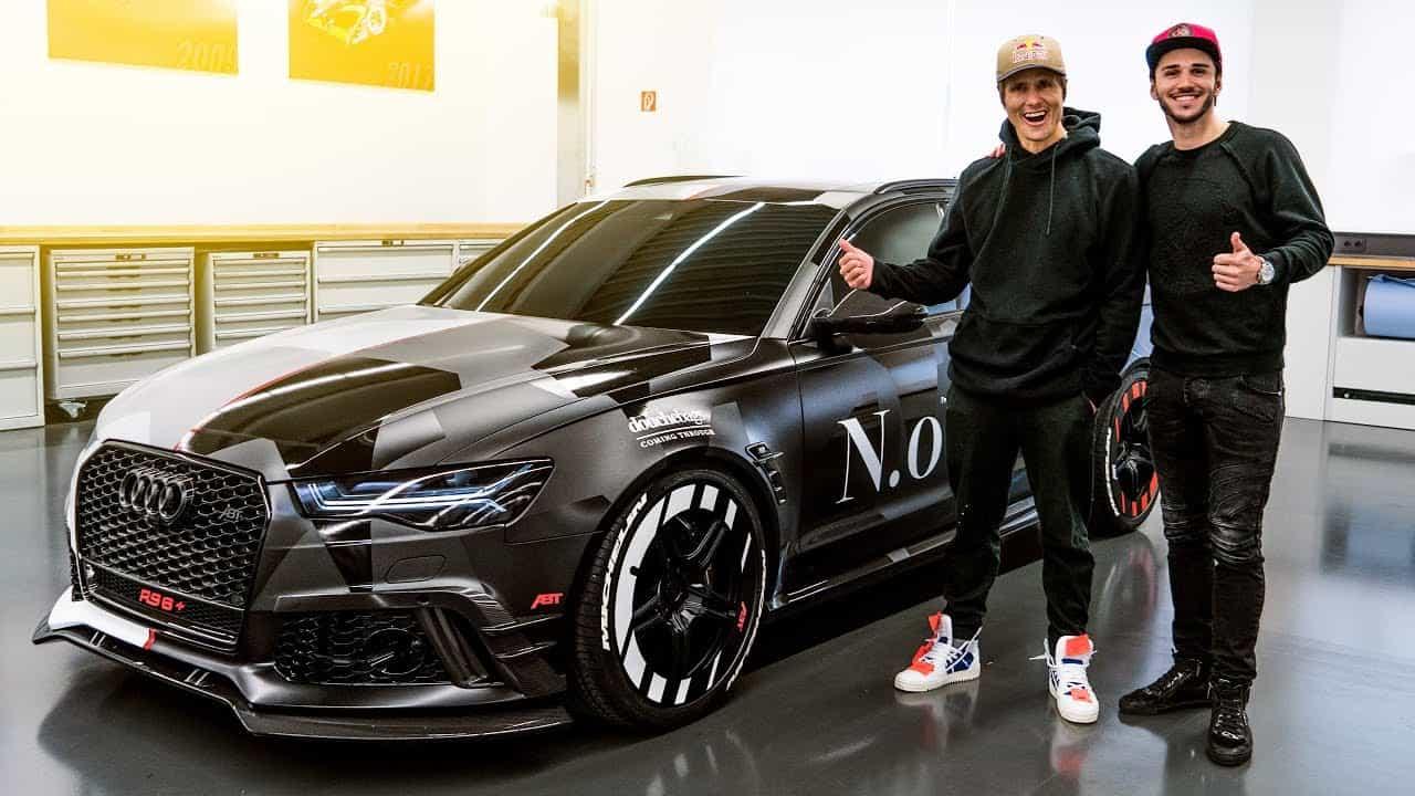 Jon Olsson Und Sein Abt Audi RS6