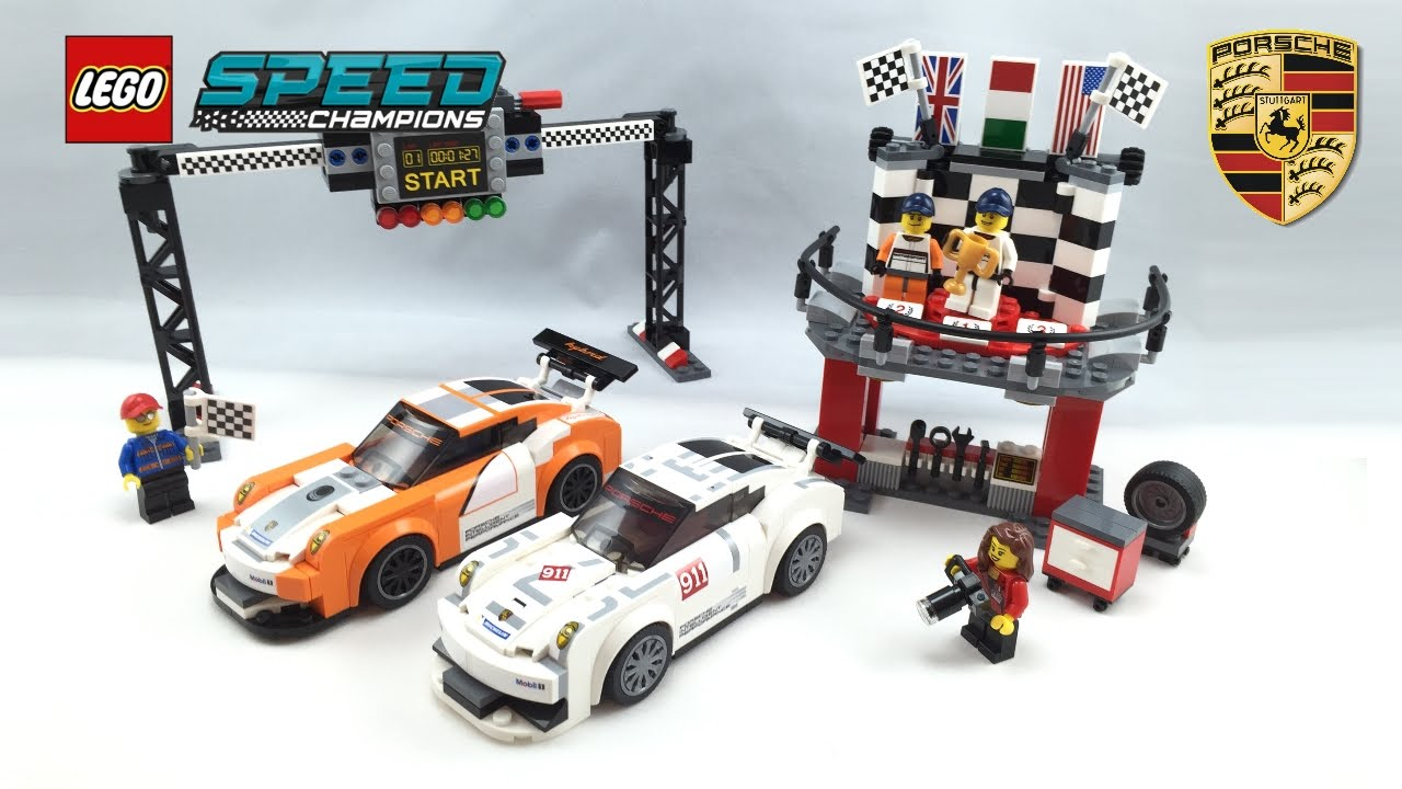 lego speed champions porsche geben gas. Black Bedroom Furniture Sets. Home Design Ideas