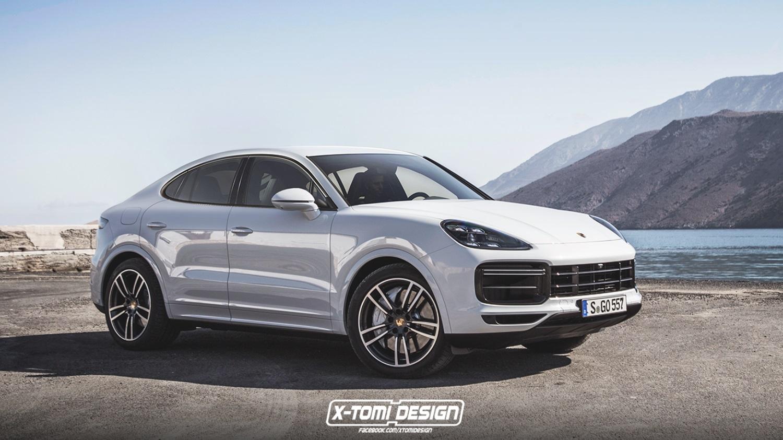 Das Porsche Cayenne Coupé! - Motorblock