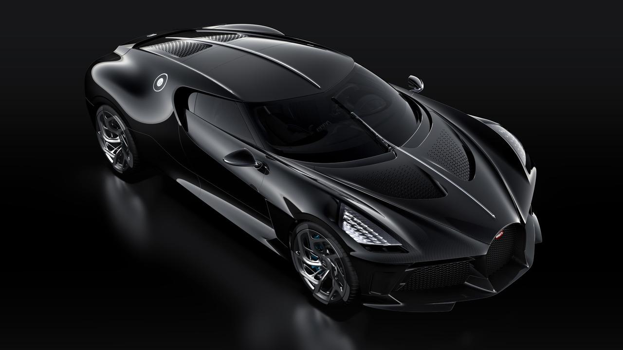 Bugatti la voiture noire das teuerste auto der welt