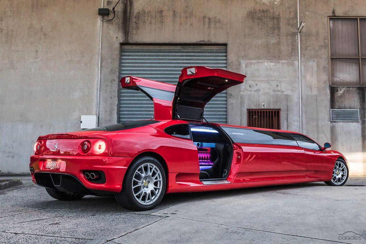 Ferrari Limo 4 Motorblock